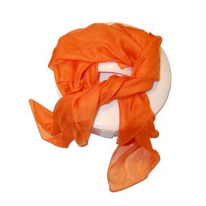 Pañuelo Naranja Tipo Foulard