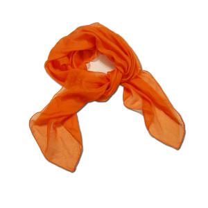 Pañuelo Naranja Congresos Y Ferias 80 Cm X 28 Cm