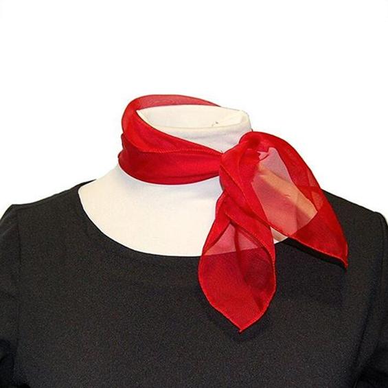 Pañuelo rojo cuadrado
