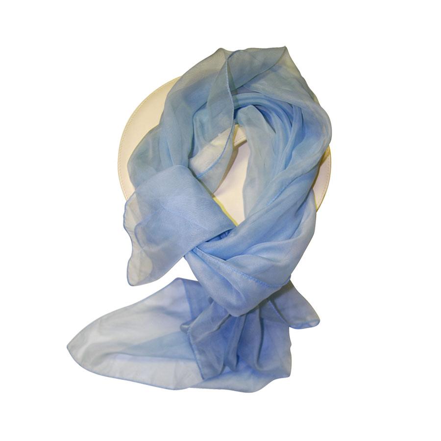 Pañuelo Azul Celeste Transparente