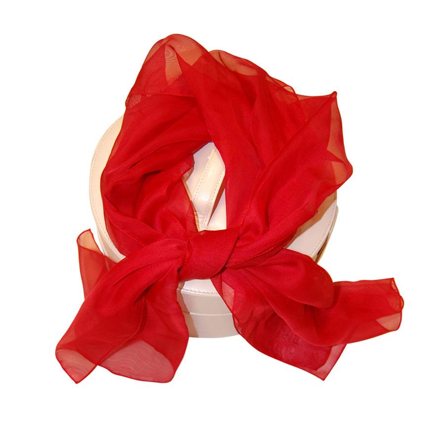 Pañuelo Rojo Congresos Y Ferias, Modelo Largo