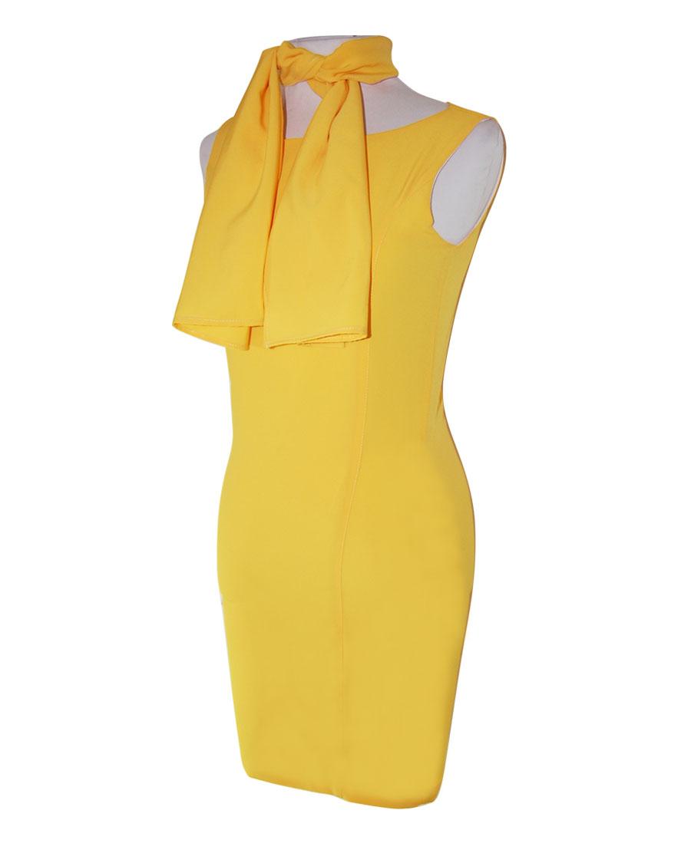 Vestido De Azafata Amarillo