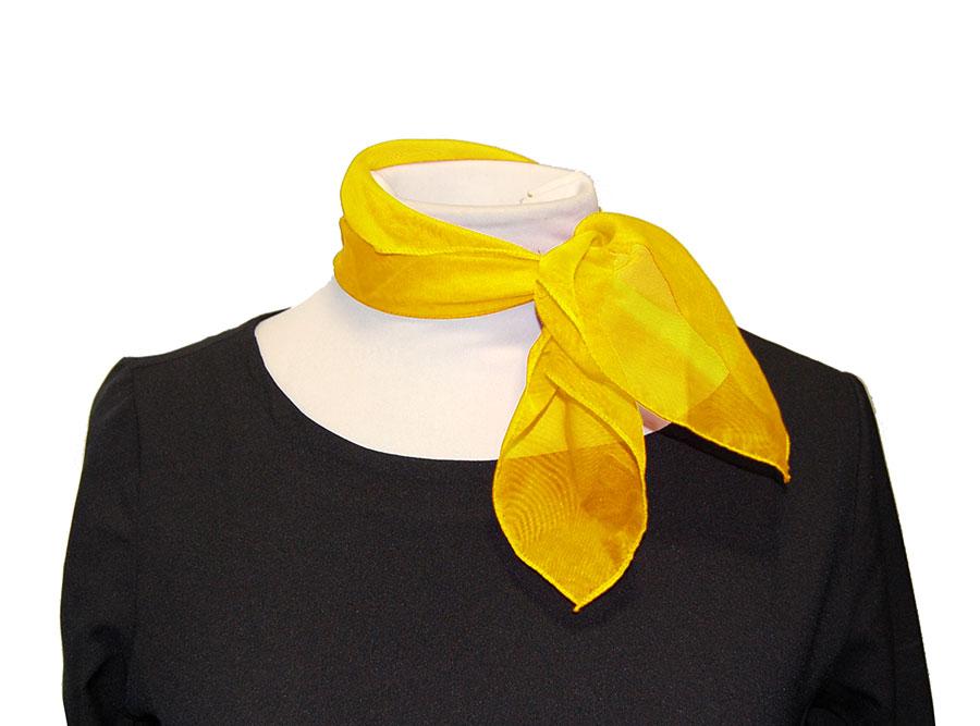 Pañuelo De Cuello Amarillo
