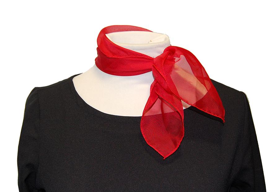 pañuelo de cuello rojo