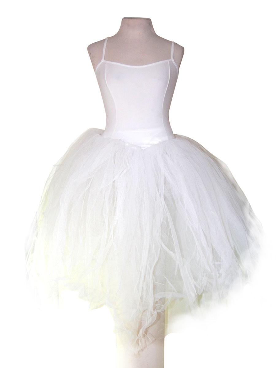 vestido tutu blanco