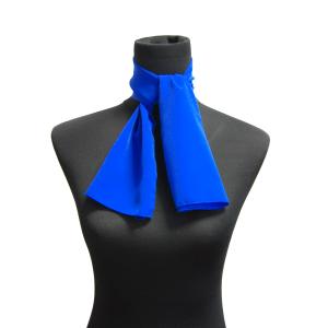 Pañuelo 90x29cm Azul Electrico
