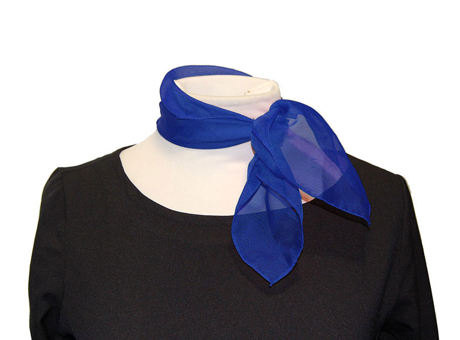 Pañuelo de cuello azul