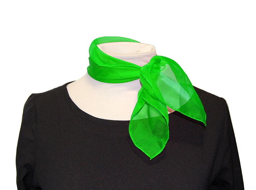 Pañuelo cuadrado verde