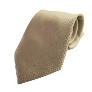 Corbata Estrecha Color Beige