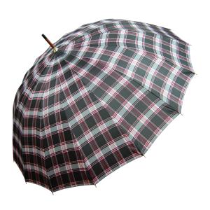 Paraguas Largo Automático De Cuadros