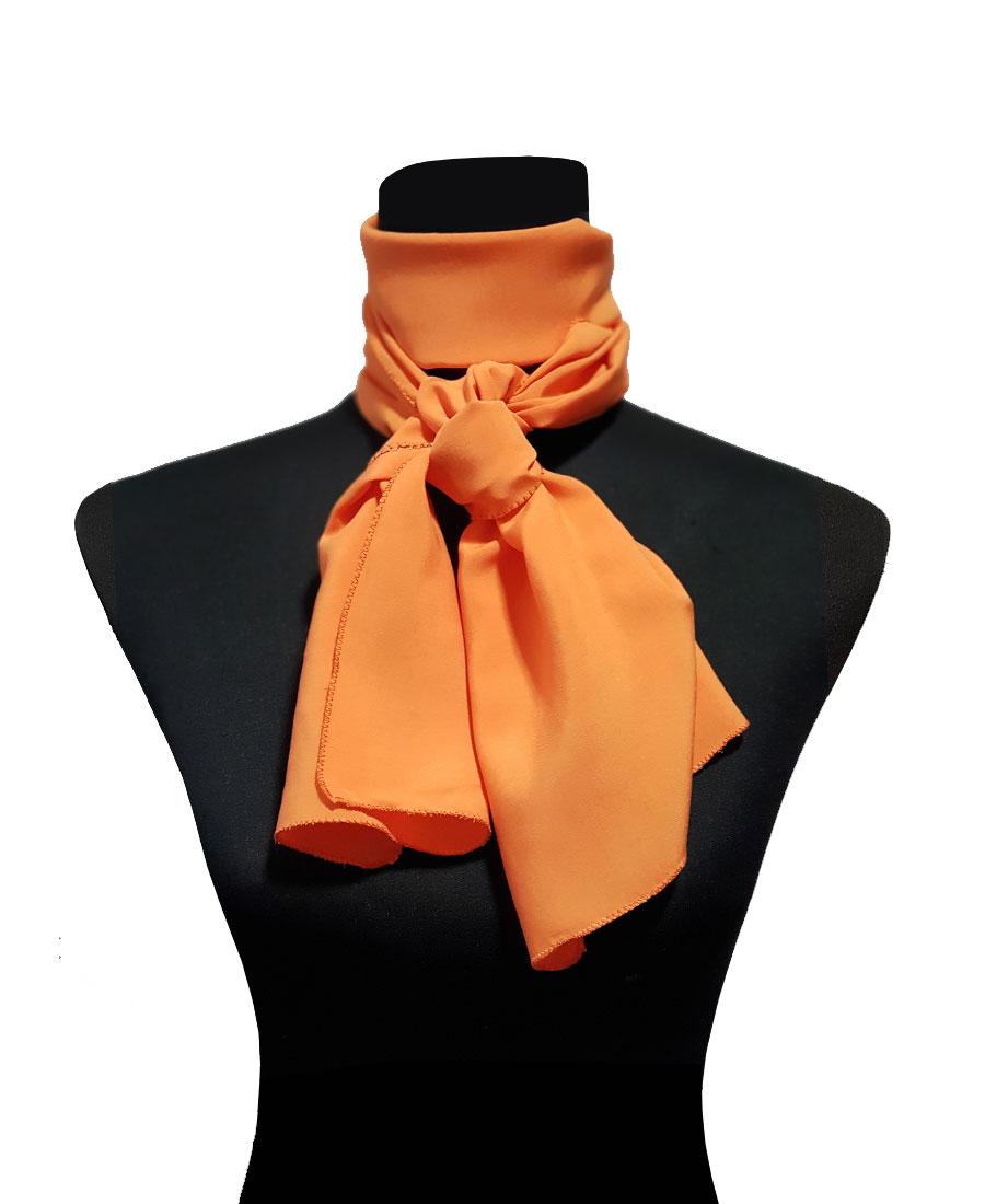 Pashmina naranja para eventos