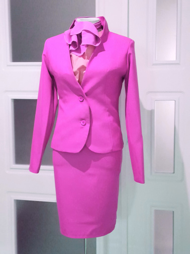 Uniforme Para Congresos Y Ferias Color Fucsia